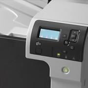 HP Color LaserJet Enterprise M750 sorozat  vezérlőpultja