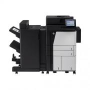 HP LaserJet Enterprise MFP flow M830z füzetkészitő finiserrel