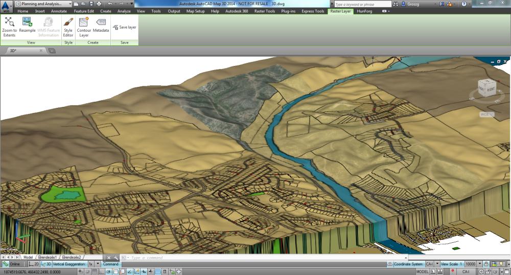 AutoCAD Map 3D _bővebben_3D