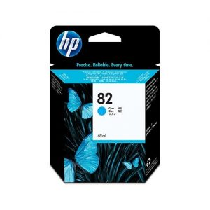 HP 82 Cyan Ink Cartridge 69ml (C4911A)