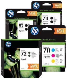 Új Designjet tintacsomagok