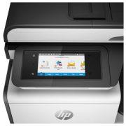 HP PageWide Pro 377/477 MFP sorozat kezelőpanelje