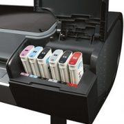 Designjet Z3200 jobb oldali tintapatronok
