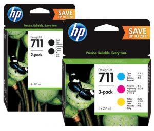 HP711 új csomagok