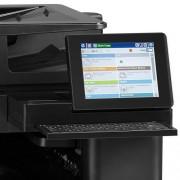 HP Color LaserJet Enterprise flow M880 vezérlőpultja