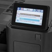 HP LaserJet Enterprise M855 vezérlőpultja