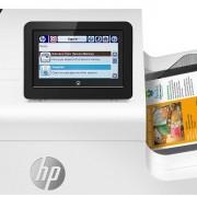 HP PageWide Enterprise Color 556 kezelőpultja