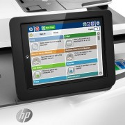 HP PageWide Enterprise Color MFP 586dn/f vezérlőpultja