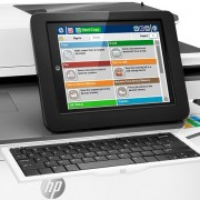 HP PageWide Enterprise Color Flow MFP 586z vezérlőpultja