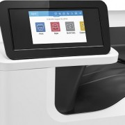 HP PageWide Pro 750dw nyomtató vezérlőpultja
