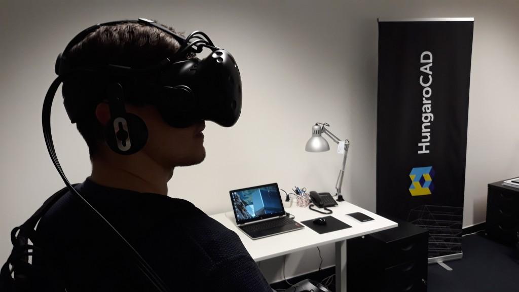 HungaroCAD, VR modell