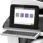 HP PageWide Enterprise Color Flow MFP 785f vezérlőpultja