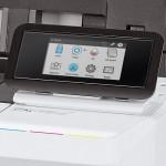 HP Designjet T1600 – vezérlőpult
