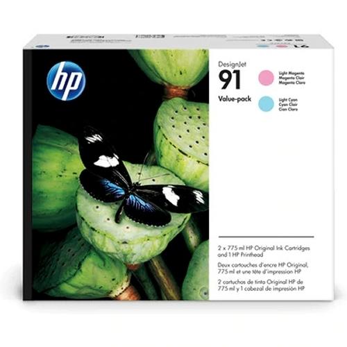 HP91LMLC-cart-head-pack-P2V37A