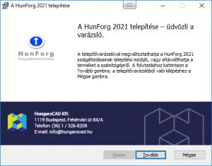HunForg 2021 telepítő