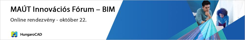 MAÚT Innovációs Fórum - BIM
